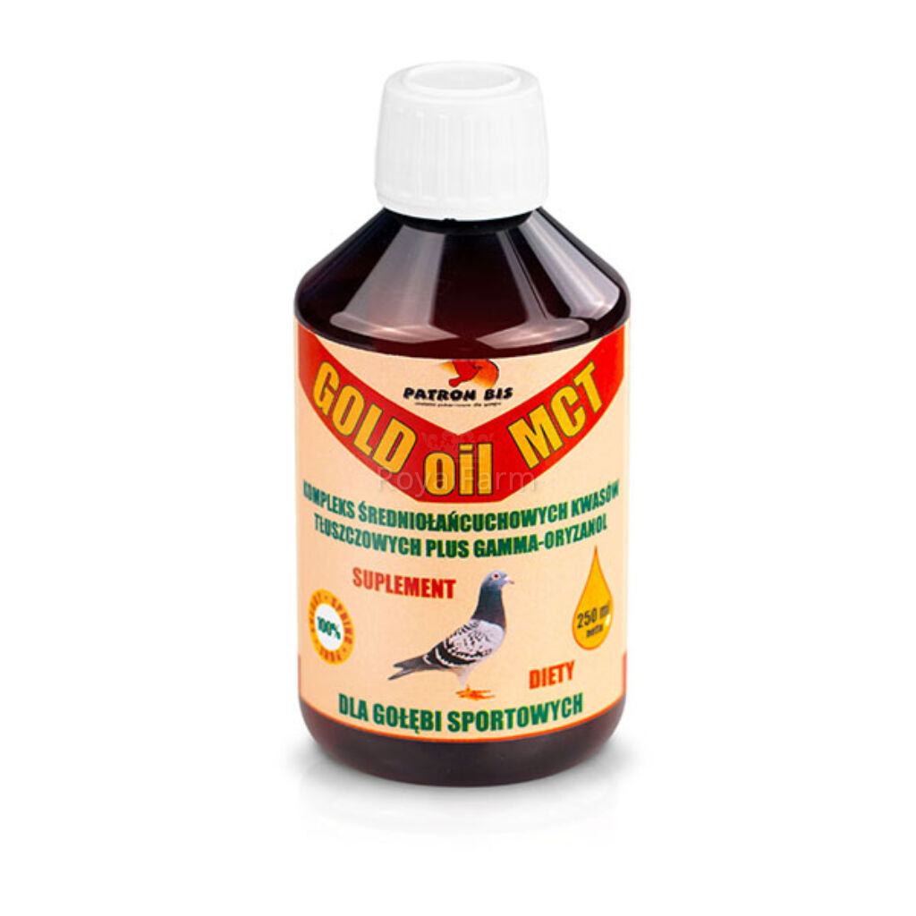 GOLD-OIL-MCT 250ml