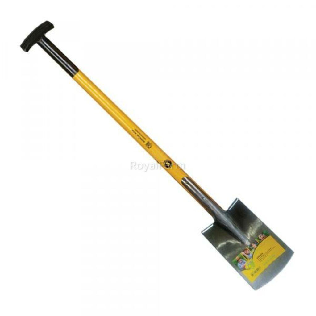 Kertész ásó sárga T nyéllel MUTA PROF