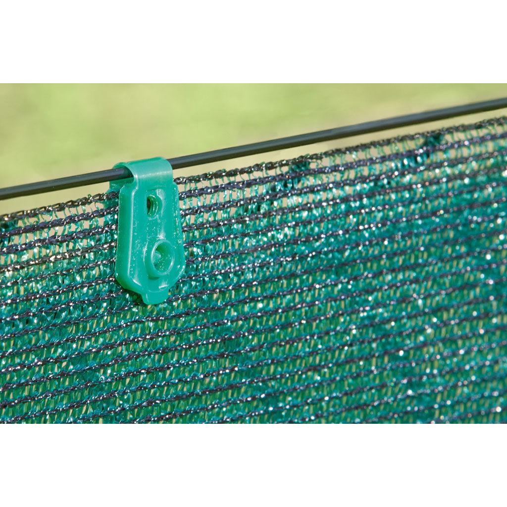 FIXATEX rögzítő kapocs szőtt árnyékoló hálóhoz  Szürke