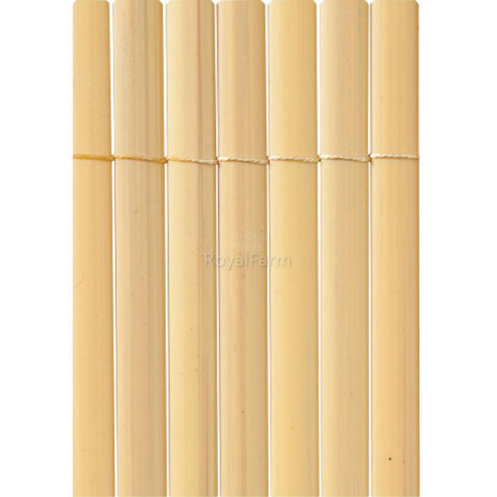 PLASTICANE OVAL ovális profilú műanyag nád, 13 mm, PVC 1m x 3m Bambusz