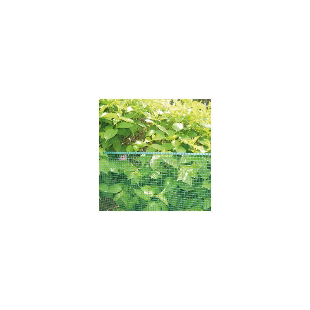 SQUARE műanyag kertirács 0.5m x 5m Zöld