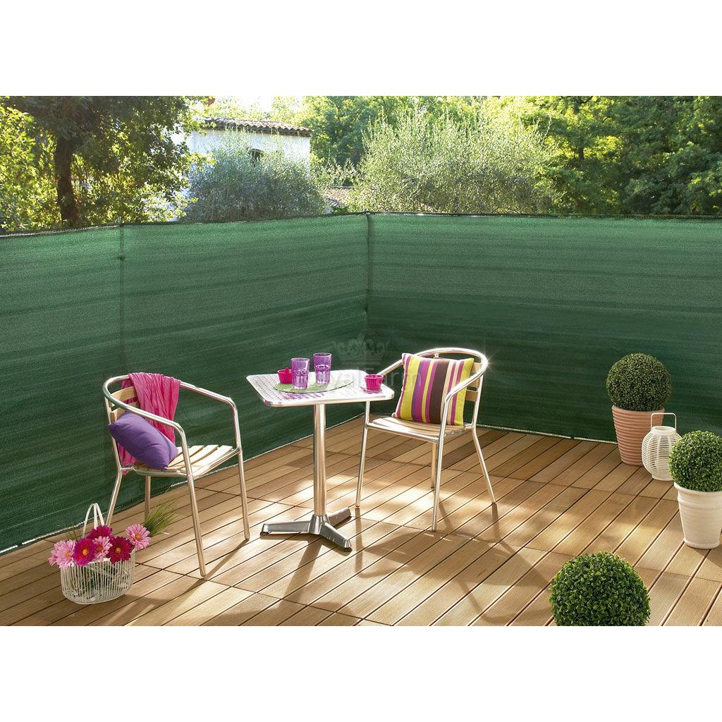 SUPRATEX gomblyukazott, szőtt árnyékoló háló, 100% 1,5m x 50m Zöld