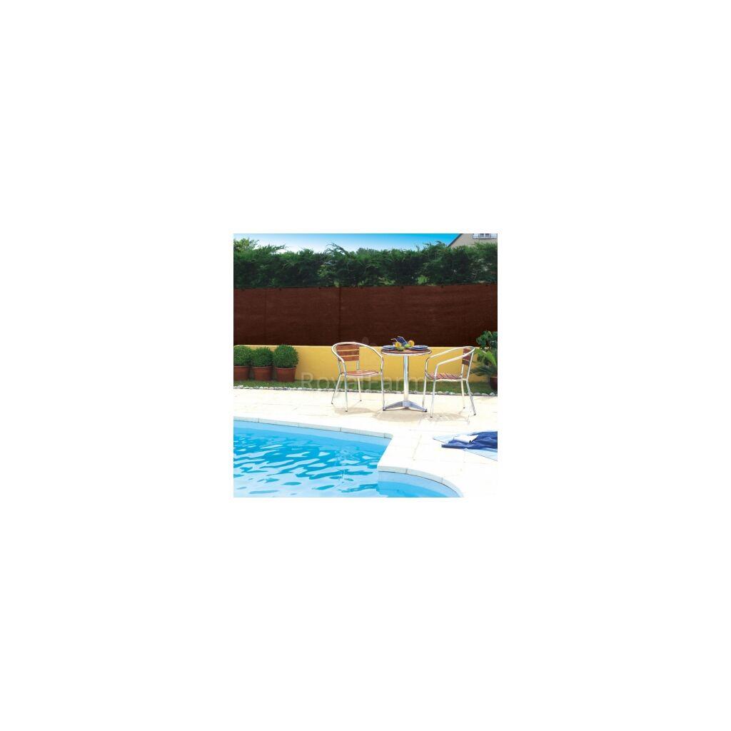 TOTALTEX szőtt árnyékoló háló, 95% 2m x 10m Barna