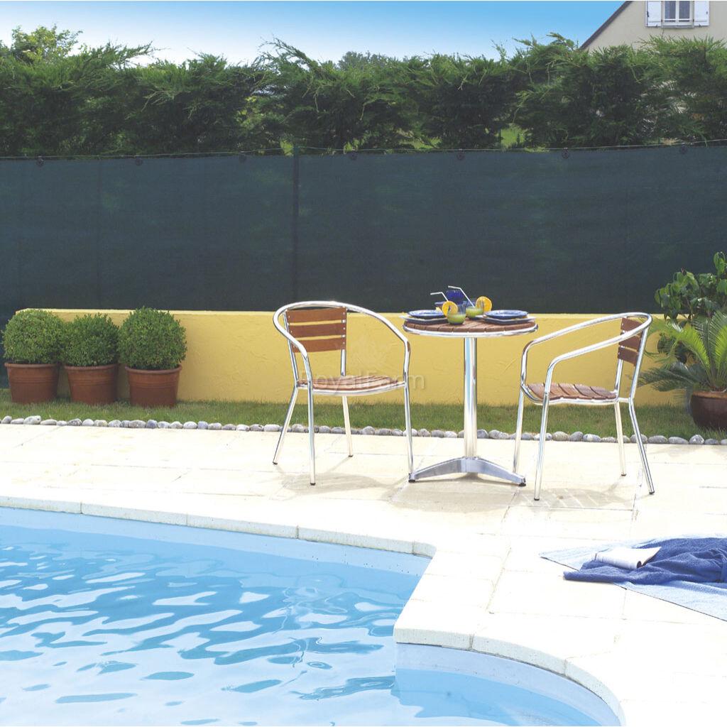 TOTALTEX szőtt árnyékoló háló, 95% 1m x 5m Zöld