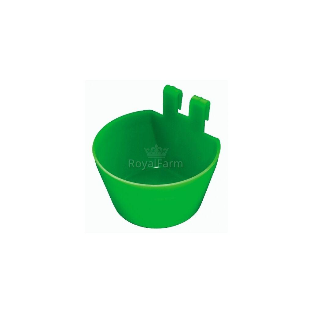 Ketrecre szerelhető itató zöld