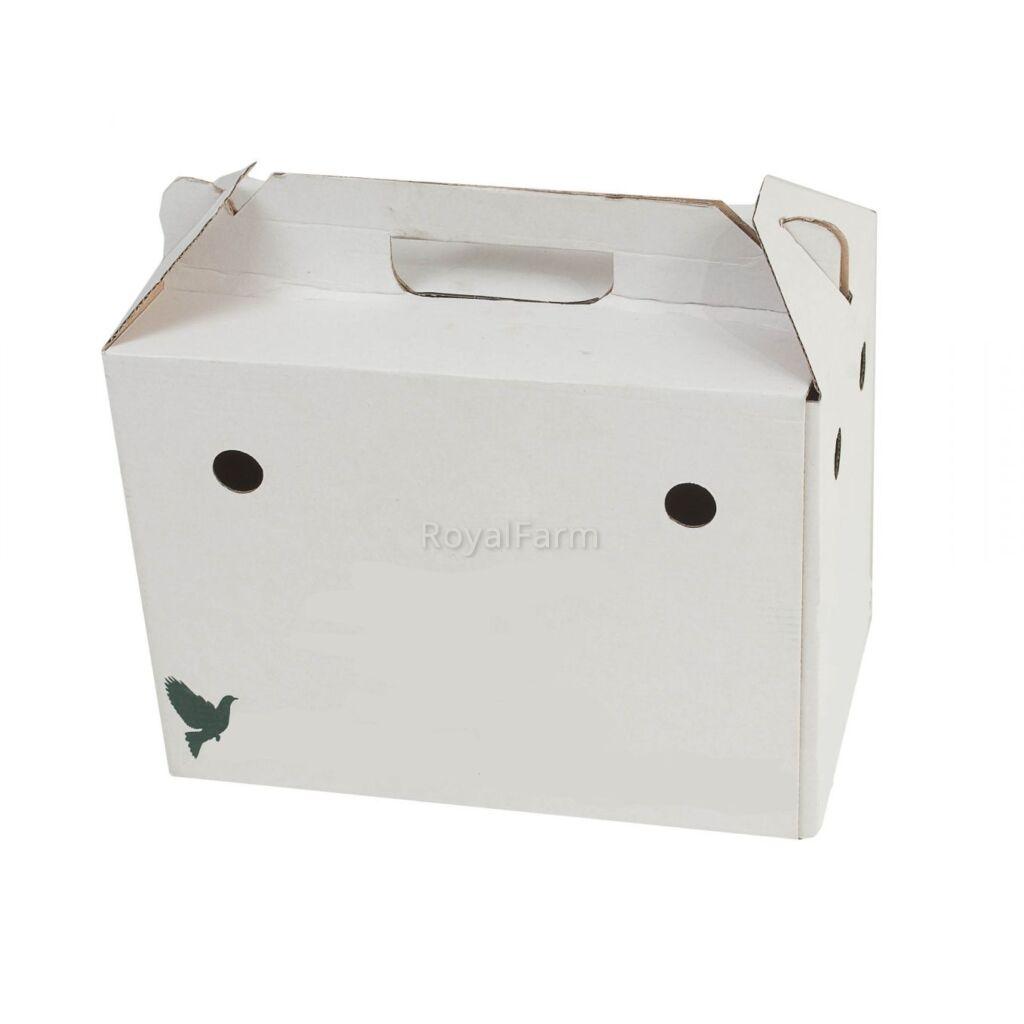 Galambszállító doboz
