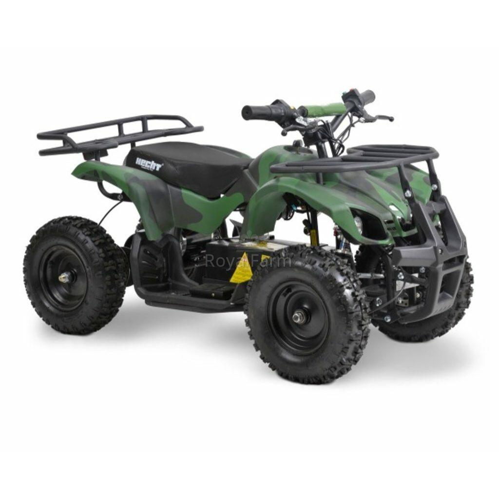 HECHT 56801 - Akkumulátoros gyerek quad (zöld)