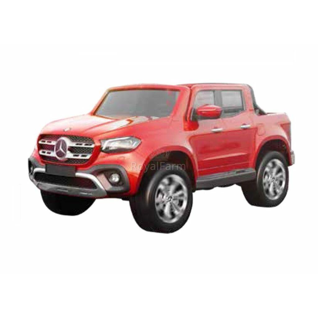 MERCEDESXMX 606 RED - Mercedes benz