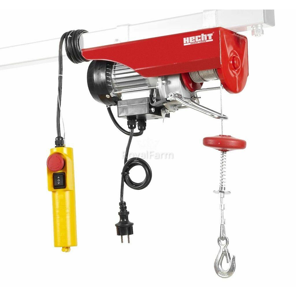 HECHT 8425 - Elektromos drótkötél csörlő 450w