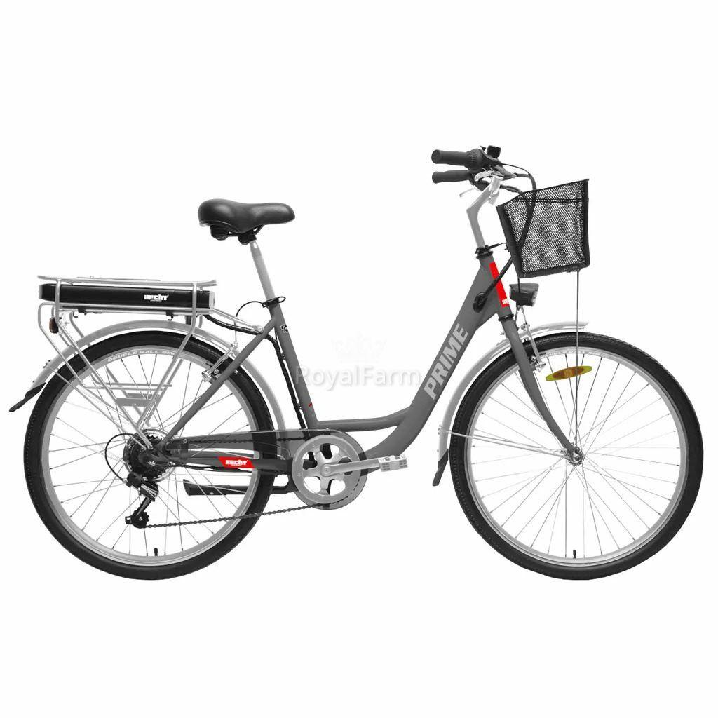 HECHTPRIMESHADOWK - Elektromos kerékpár+kosár