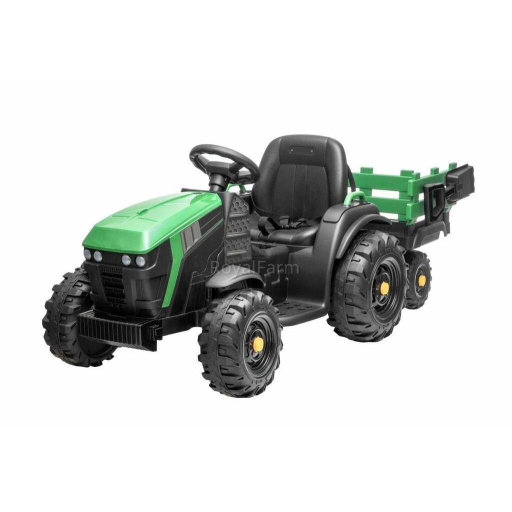 HECHT 50925 GREEN - Akkumulátoros gyerek traktor