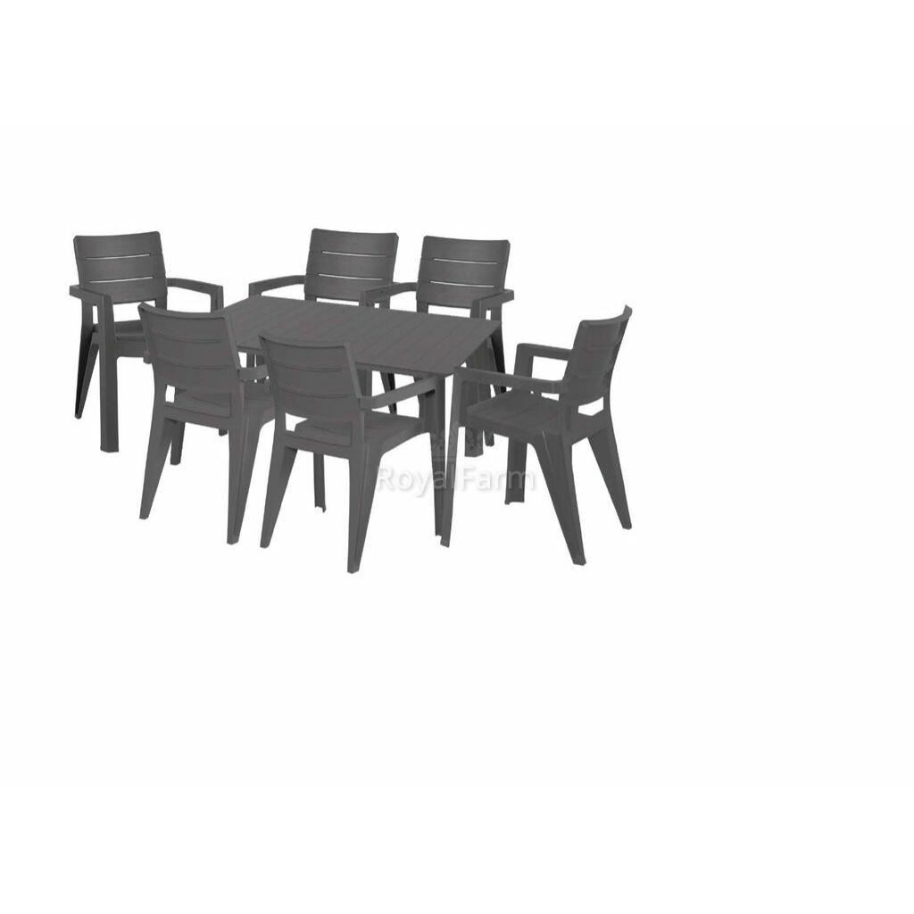 HECHTANEGADAGRAPHITE 6 - Kerti bútor