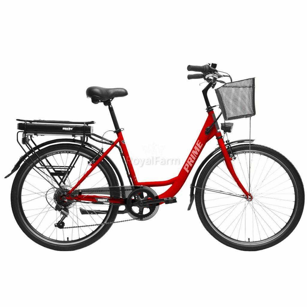 HECHTPRIMEREDK - Elektromos kerékpár+kosár