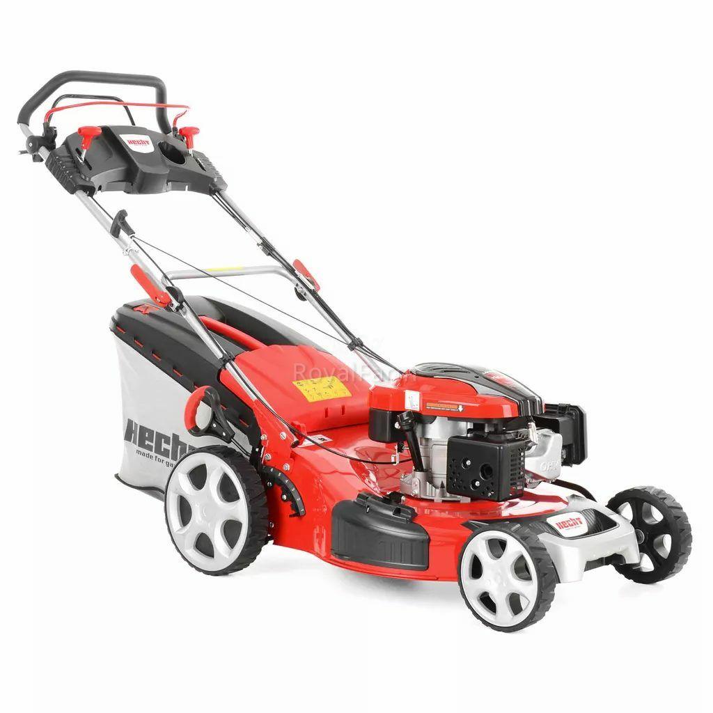 HECHT 5564 SX 5 IN 1 - Benzinmotoros önjáró fűnyíró 173ccm, 6 le munk.sz.:56 fém, mulcs
