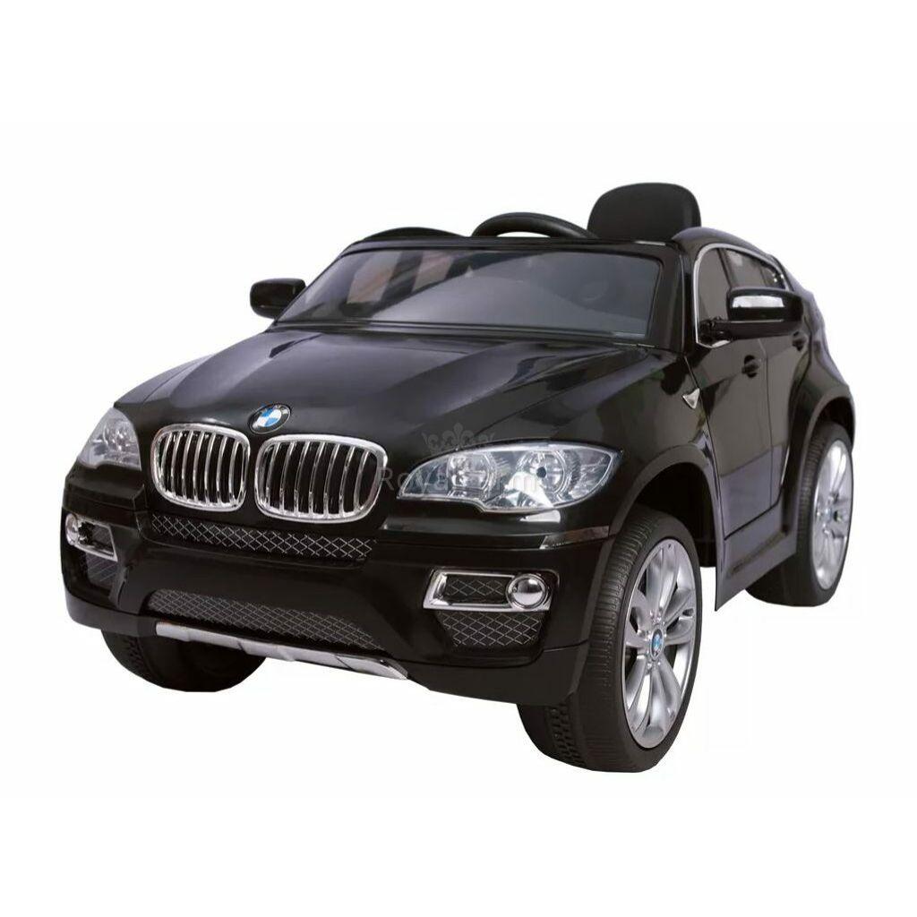 BMWX 6-BLACK - Akkumulátoros gyerek autó