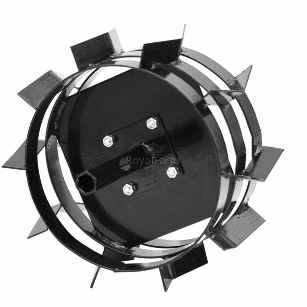 HECHT 000797 - Acél körmöskerekek (2db)