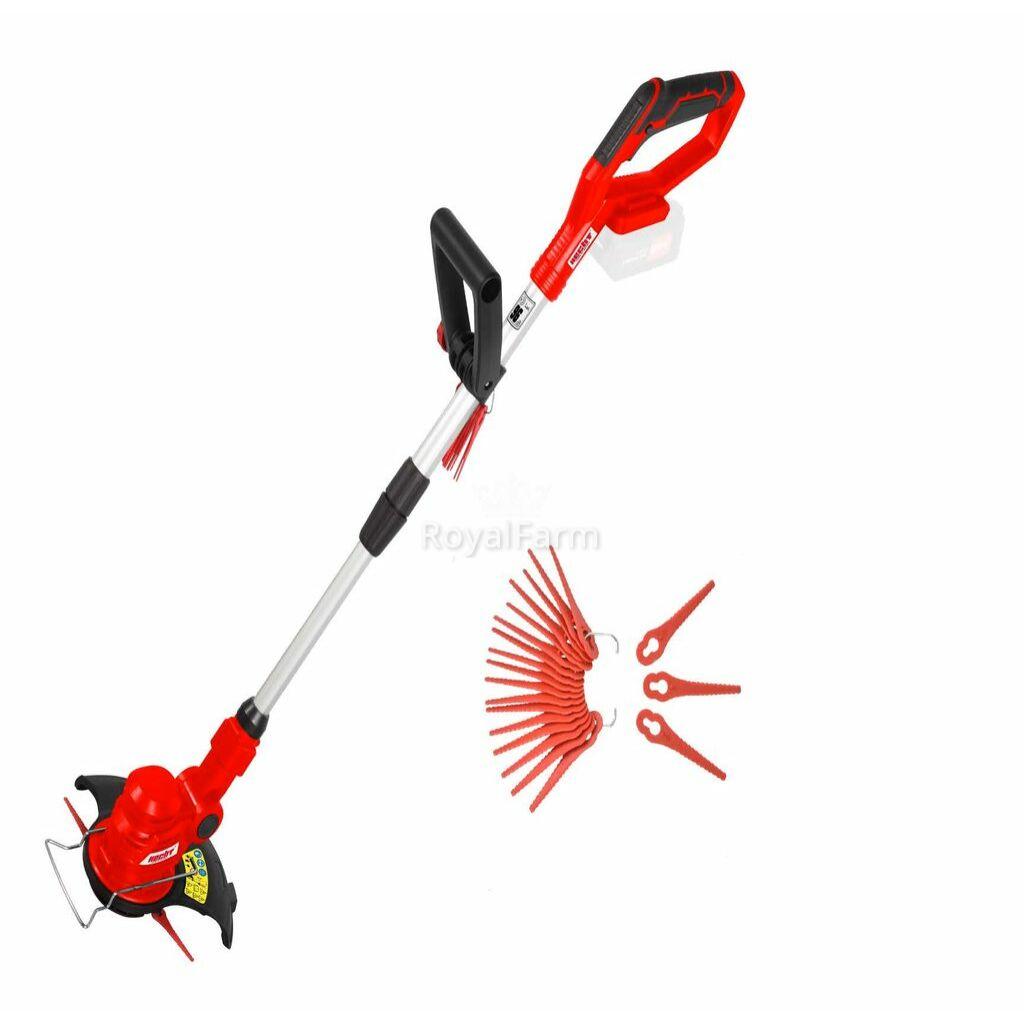 HECHT 5022 - Akkus fűszegélyvágó, akku+töltő nem tartozék
