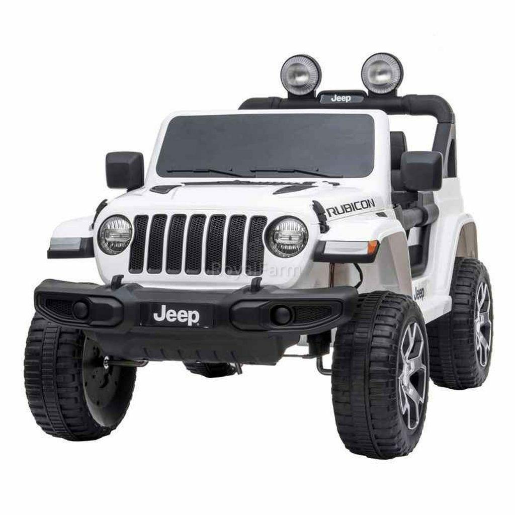 JEEPWRANGLERWHITE - Akkumulátoros gyerek autó