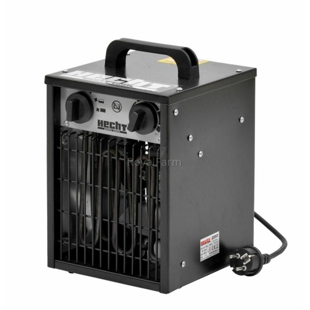 HECHT 3502 - Hősugárzó ventilátorral és termosztáttal, 2000w