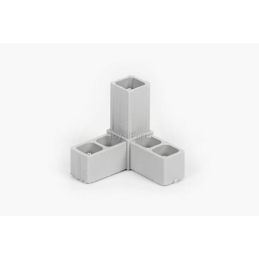 Profil összekötő - D típus (2 cm)