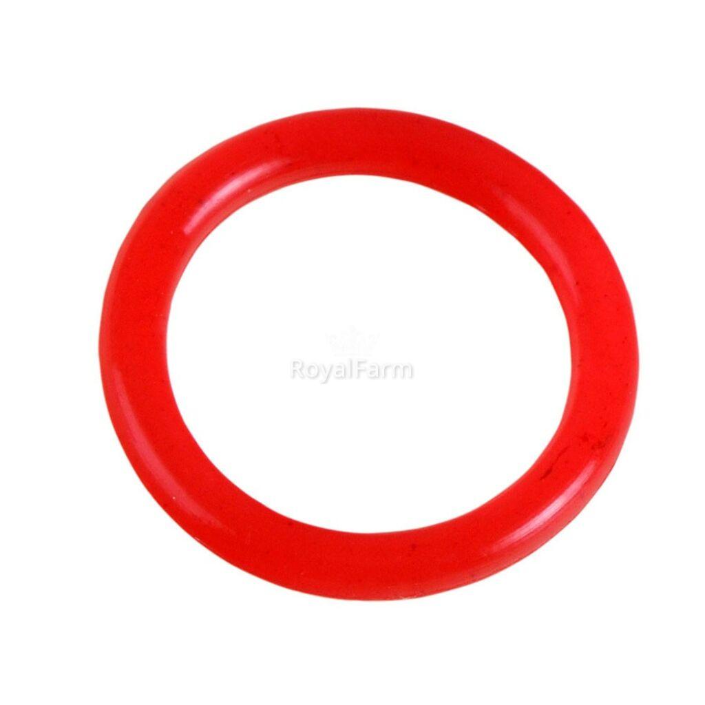 O gyűrű, piros szilikon (DHSZ cikkszámhoz)