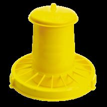Baromfi önetető 15 kg, sárga pazarlásgátlóval