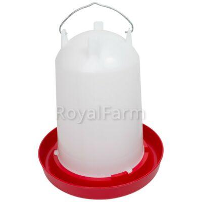 Bajonettzáras önitató, 12 liter, piros