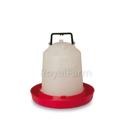 műanyag itató, 5 literes, markolattal