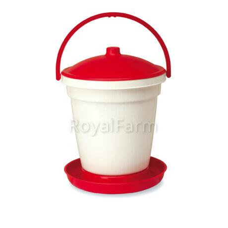 műanyag adagolós itató, 18 liter kapacitású